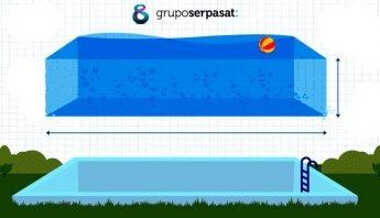 cómo calcular los metros cúbicos de una piscina